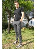 Pantalon de jogging homme molletonné resserré à la cheville par Coton Marine 24,90€