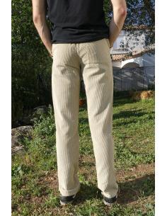 Pantalon en velours côtelé - noir, marine, kaki, beige par Coton Marine 41,90€