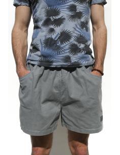 Short court pour Homme en Coton Steel Grey par Coton Marine 27,90€