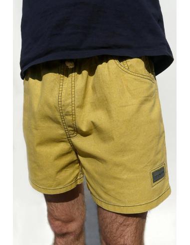 Short court pour Homme en Coton Rouge par Coton Marine 27,90€