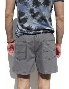 Short court pour Homme en Coton Beige par Coton Marine 27,90€
