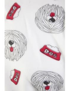 grenouillère homme pyjama chien