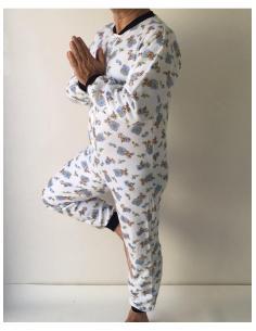 Grenouillère pyjama homme