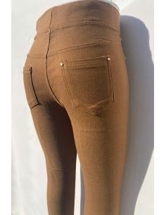 Pantalon push up femme slim style legging mode avec poches par Coton Marine 18,90€