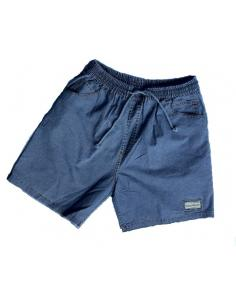 Coton Marine HOMME SPECIAL Grandes Tailles, BERMUDA pour Homme en Coton Bleu