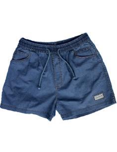 Coton Marine HOMME Short court pour Homme en Coton Bleu