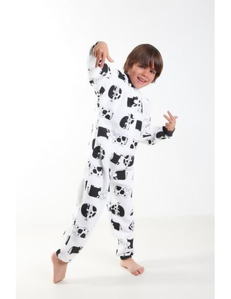 Pyjama Surpyjama Enfant GRENOUILLERE par Coton Marine 26,95€