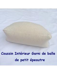 Coussin-zafu de yoga et méditation demi-lune Cotonmarine, Coton 100 % Bordeaux par Coton Marine 45,00€
