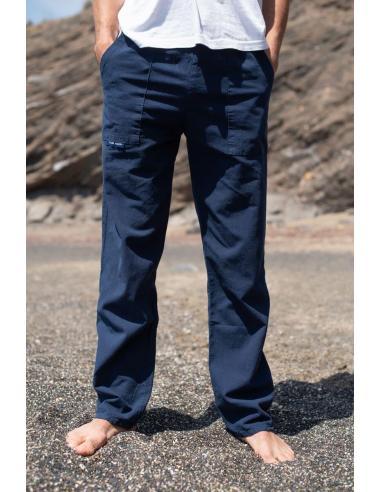 Coton Marine HOMME PANTALON HOMME COTON