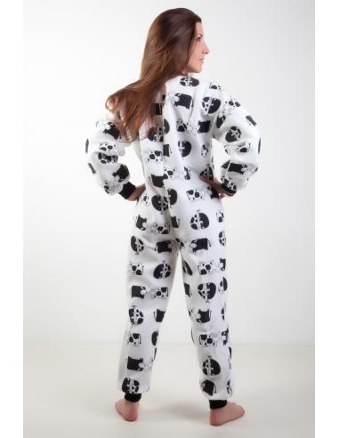 14ea85d914b08 Grenouillère Femme adulte sur-pyjama mode grandes taille Petit Prix