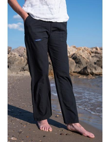 PANTALON D'ETE FEMME 100 % COTON par Coton Marine 23,95€
