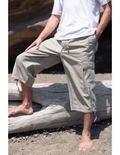 """NOUVEAUTE - Pantacourt Homme """" Cotonmarine """" kaki par Coton Marine 34,90€"""