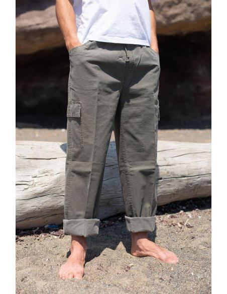 PANTALON pour Homme en Coton Bleu par Coton Marine 34,90€