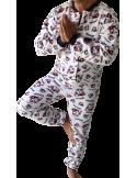 GRENOUILLERE HOMME coloris Marmotte Coton Marine par Coton Marine 39,99€