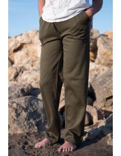 PANTALON DE JOGGING FEMME coton-polyester coupe droite par Coton Marine 24,95€