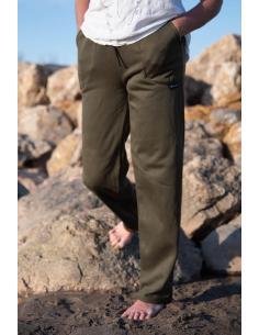 PANTALON DE JOGGING FEMME coton-polyester coupe droite par Coton Marine 22,95€