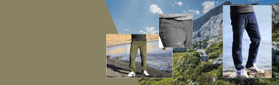 Pantalon en velours pour homme confortable